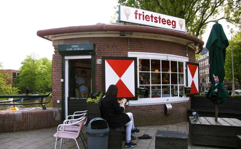Friet in Amsterdam