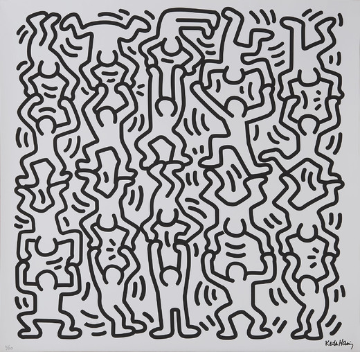 Keith Haring in Brussel